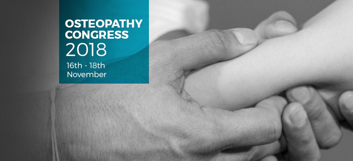 OSTEOPATHY CONGRESS 2018